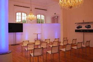 Kaminzimmer Theater Conference Center Laxenburg