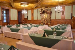 Rittersaal Table Palais Niederoesterreich