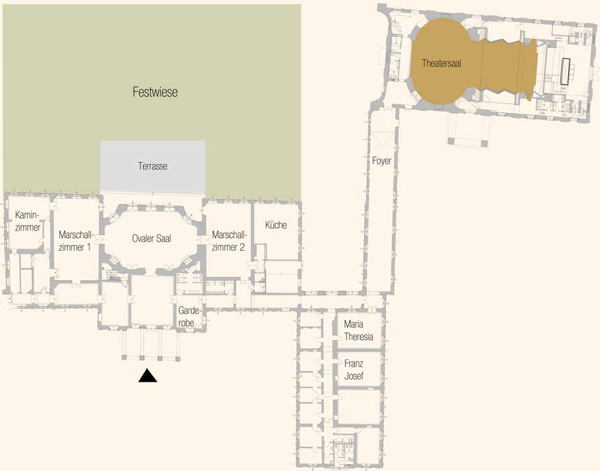 Floor Plan Conference Center Laxenburg