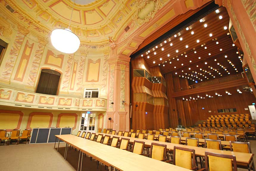 Theatersaal Classroom Conference Center Laxenburg