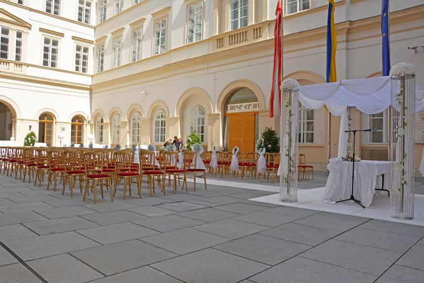 Wedding Ceremony Palais Niederoesterreich