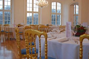 Kaminzimmer Gala Dinner Conference Center Laxenburg
