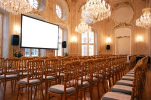 Ovaler Saal Theatre Style Conference Center Laxenburg
