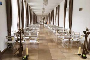 Theaterfoyer Wedding Ceremony Conference Center Laxenburg